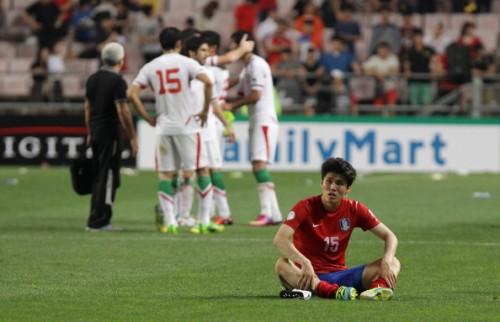 イランが韓国を下しW杯出場決定…韓国は得失点差でウズベク上回る