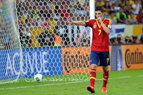 イタリアとの準決勝に臨むビジャ「勝たなければ何も得られない」
