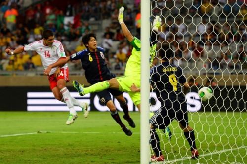 岡崎弾で追撃も及ばず、日本はメキシコに敗れて3戦全敗で大会終了