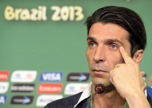 スペイン戦前にブッフォン「ユーロ決勝のリベンジではない」