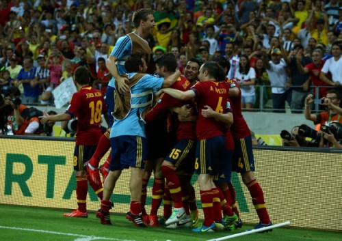 スペイン、PK戦でイタリアを下して決勝進出/コンフェデ杯