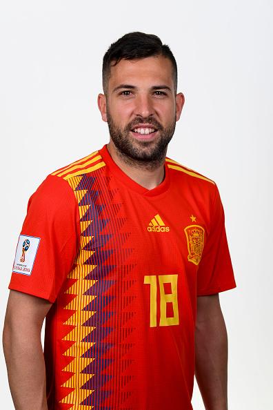 ジョルディ・アルバ(スペイン代表)のプロフィール画像