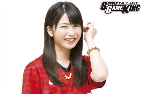 AKB48 横山由依「スポーツをしている人が好き。サッカーって爽やかですよね♪」