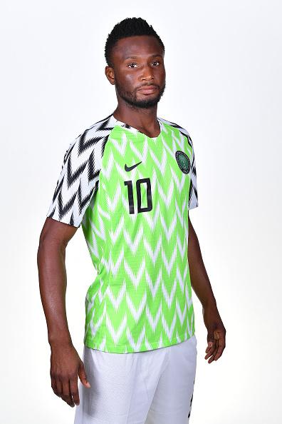 ジョン・オビ・ミケル(ナイジェリア代表)のプロフィール画像