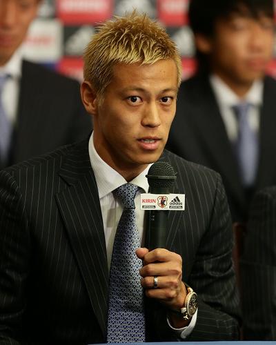 W杯での優勝見据える本田圭佑「考え方によってはまだ1年もある」