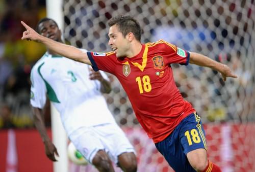 スペインが3連勝で首位通過…準決勝はユーロ決勝と同じイタリアと