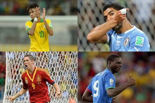 コンフェデ杯ベスト4出揃う…準決勝は南米同士、欧州同士の対戦に