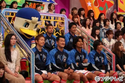 横浜FMの中村、中澤ら6人が「VS嵐」に出演…6月13日に放送