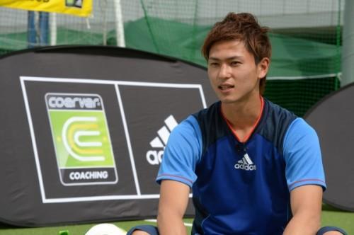 C大阪・南野拓実が少年たちにエール「夢を持ってサッカーをやってほしい」