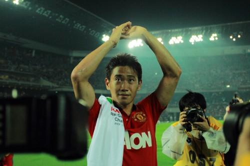 凱旋のマンU香川「全力で勝ちに行ったので負けは悔しい」