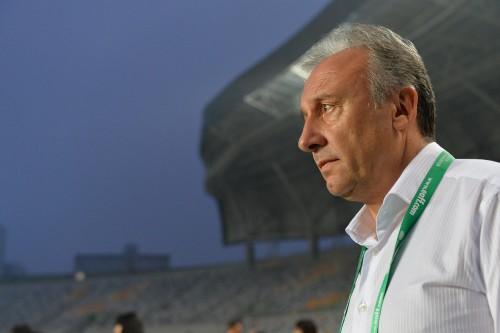 勝利を振り返るザッケローニ監督「良い試合だった」/東アジア杯