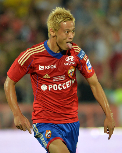 CSKA本田が2得点の活躍でスーパー杯獲得に貢献…ゼニトに快勝