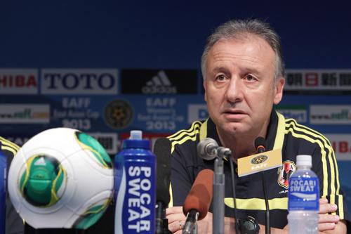 東アジア杯初戦に臨むザック監督「3試合の中でも一番難しい試合」