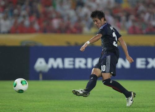 日本が東アジア杯初優勝…柿谷の2ゴールで韓国に競り勝つ