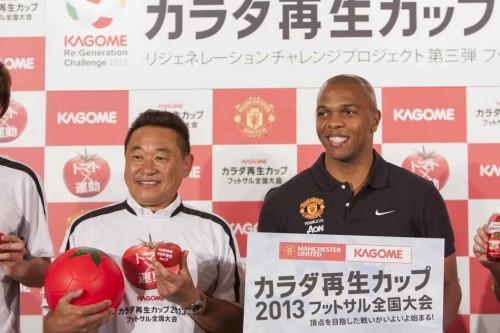 マンUのOB、香川の2年目に期待「世界でも希少な選手」