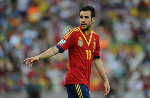 スペイン代表MFセスク「すべてを勝ち取って歴史に名を刻みたい」
