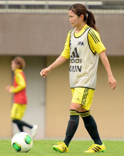 なでしこジャパンの川澄奈穂美「東アジア杯はチーム力を問われる」