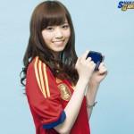 西野七瀬ちゃん「チームワークを大切にするサッカー選手ってカッコイイ♪」