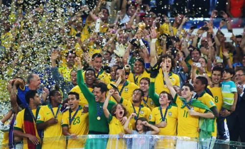 FIFAランク、コンフェデ3連覇のブラジルが13ランクのジャンプアップ