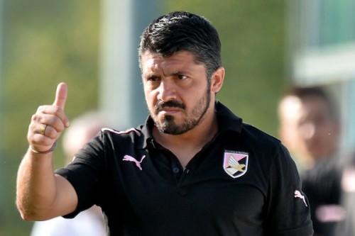 パレルモのガットゥーゾ新監督、初陣を大勝で飾る