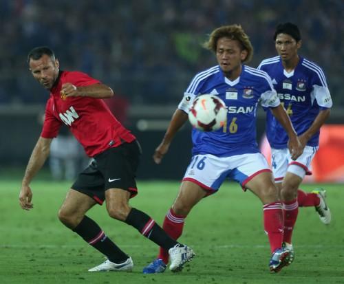 敗戦にマンUのMFギグス「日本人選手は勤勉で、団結力がある」