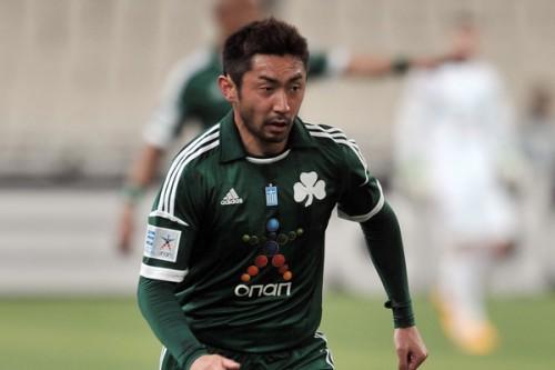 MF梶山陽平、期限付き移籍先のパナシナイコスからFC東京に復帰