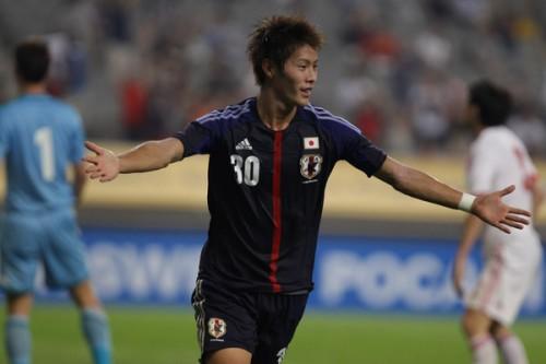 ファンが中国戦の日本代表を30点と採点…MOMに1G1Aの柿谷
