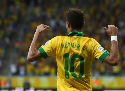 新エースの地位を確立したブラジル代表FWネイマール「重圧に押しつぶされることはない」