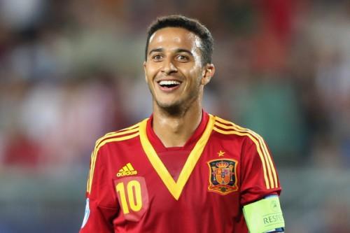 バルセロナMFチアゴ・アルカンタラ、マンチェスター・U移籍目前か