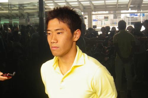 日本代表の香川「東アジア杯の選手らと刺激がある争いができれば」