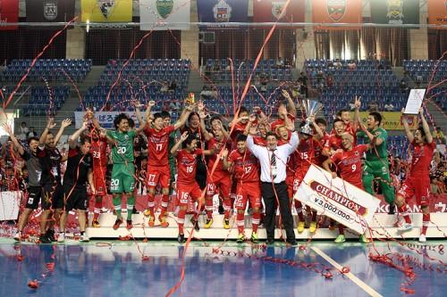 Fリーグ オーシャンアリーナカップ2013 大会4日目……王者の貫禄勝ちで名古屋が4連覇