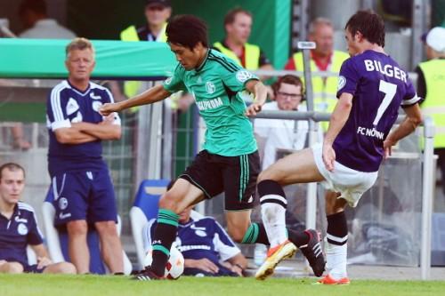 内田篤人が途中出場のシャルケ、DFB杯2回戦進出