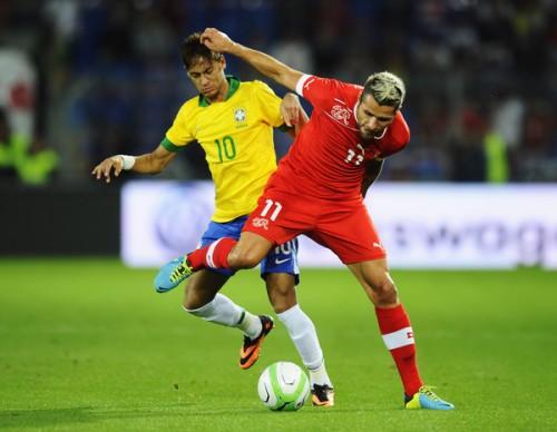 コンフェデ王者ブラジル、痛恨OGでスイスに敗れる/親善試合
