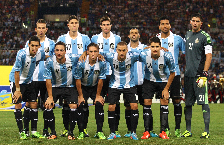 W杯予選首位のアルゼンチン代表...