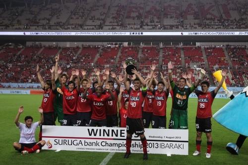 大迫のハットトリックでサンパウロに劇的勝利、鹿島がスルガ杯初の連覇