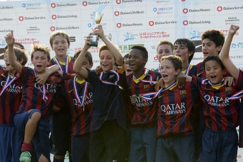 久保君所属のバルセロナ、決勝でリヴァプールを圧倒して大会制覇