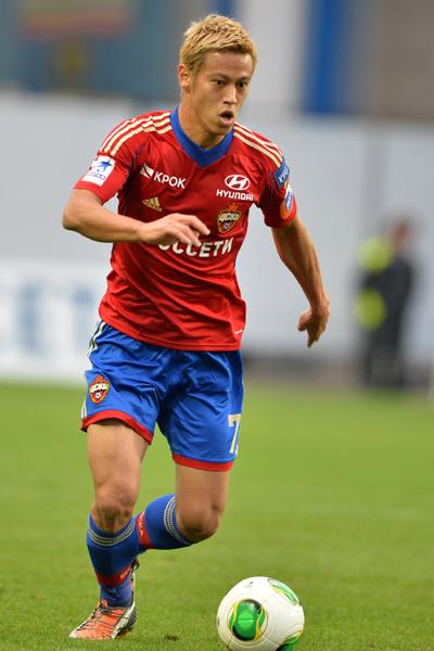 本田圭佑が決勝アシスト…CSKAモスクワの2戦ぶり勝利に貢献