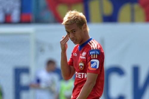 本田圭佑が練習中に負傷してリーグ戦欠場へ…CSKAは軽傷と発表