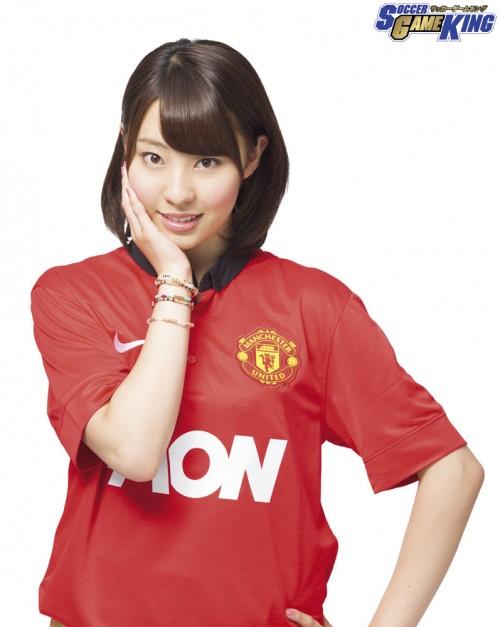 AKB48 藤江れいなさん「小さい頃はお兄ちゃんとボールを蹴っていたんです」