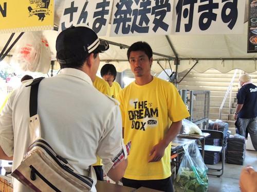 鹿島がオープンスタジアムでグルメGPを開催…東北人魂の小笠原、柴崎らが参加