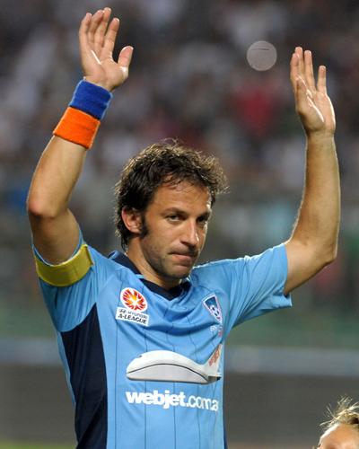 デル・ピエロがシドニーFCの新キャプテンに就任「偉大な名誉」