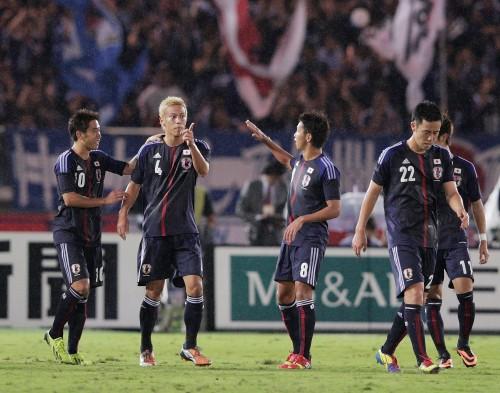 本田が3試合連弾…香川、遠藤もゴールの日本がガーナに逆転勝利