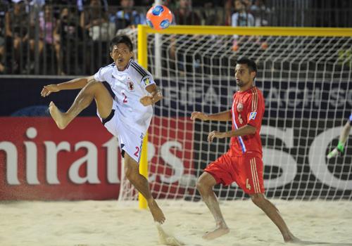 ラモス監督率いるビーチW杯日本代表、初戦は王者ロシアに敗戦