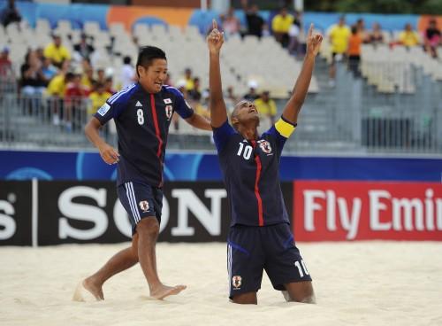 ラモス監督率いるビーチW杯日本代表がパラグアイを撃破