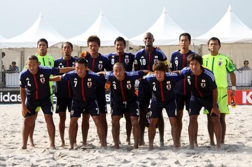 ラモス監督率いるビーチサッカー日本代表…強化試合でスイス代表に7発快勝
