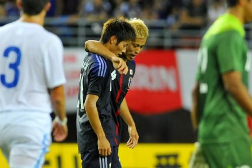 劇的な連携向上を見せた本田圭佑と柿谷曜一朗。ザックジャパンの新ホットライン完成へ