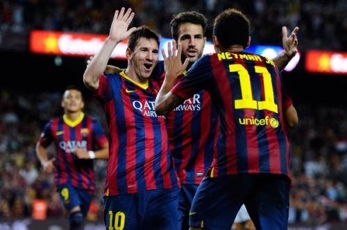 バルセロナのメッシ「ネイマールがチームにいるのは大きな幸せだ」