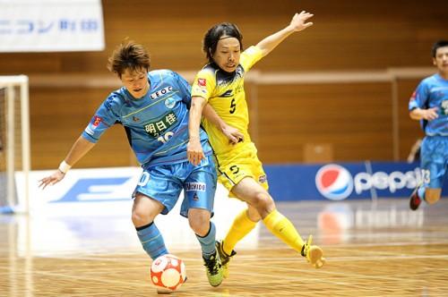 Fリーグ2013/2014第15節…ホームの町田は北海道と引き分け