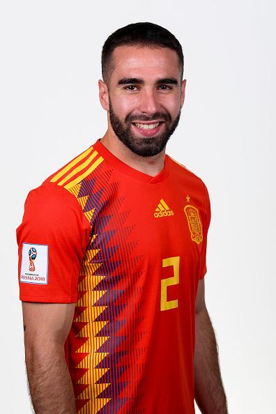 ダニエル・カルバハル(スペイン代表)のプロフィール画像