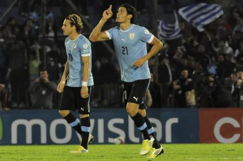 南米予選の大一番に臨むウルグアイ代表カバーニ「最も過酷な試練になる」